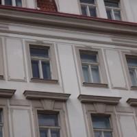Zborovská 11, Praha 5 – oprava římsy