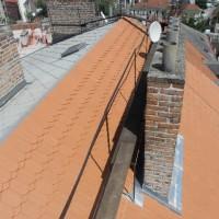 Přemyslova 7, Praha 2 – oprava střechy